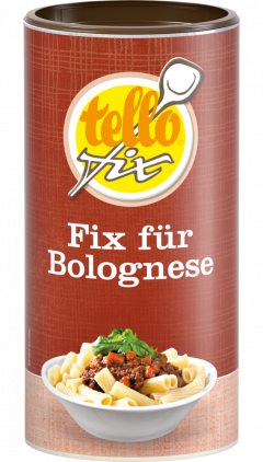 tellofix Fix für Bolognese