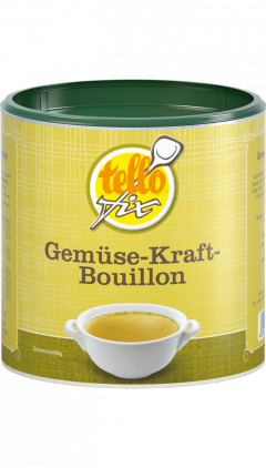 tellofix Gemüse-Kraft-Bouillon
