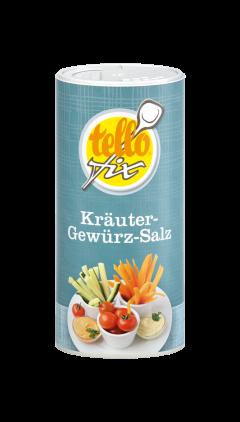 tellofix Kräuter-Gewürz-Salz