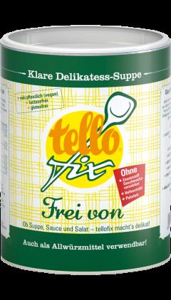 tellofix Frei von Klare Delikatess Suppe