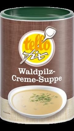 tellofix Waldpilz-Creme-Suppe